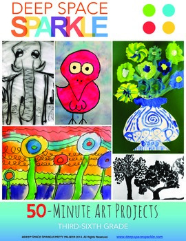 50 Minute Art Lessons For Grades 3 6