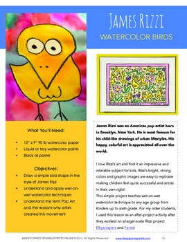 50-Minute Art Lessons for Grades 3-6