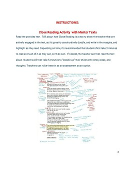 60 Mentor texts for Creative Writing