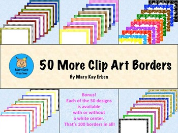 50 More Clip Art Borders