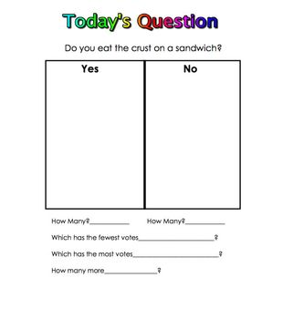 50 More Questions of the Day for Kindergarten