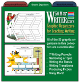 50 More WRITERizers (Graphic Organizers for Planning and Writing)