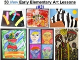 50 NEW Early Elementary Art and Craft Ideas #3