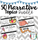 50 Narrative Writing Topic Bundle NAPLAN Prep