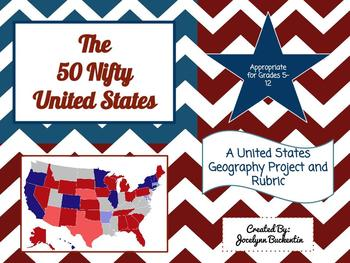 50 Nifty United States Project