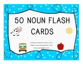 50 Noun Flashcards for Autism and Early Learners