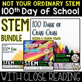 100th Day of School STEM Challenge Bundle