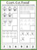 14 Christmas Cut And Paste Worksheets