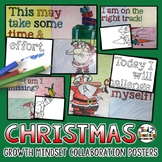 50% OFF 1ST 24 Christmas Growth Mindset Collaboration Posters