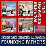 Founding Fathers Mini Biography Unit Bundle