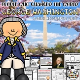 George Washington Presidents Day Mini Biography Unit