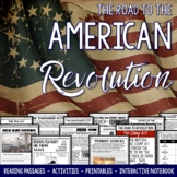 American Revolution Unit Causes of the Revolutionary War