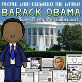 Barack Obama Presidents Day Mini Biography Unit
