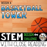 March Madness Basketball Tower STEM Challenge