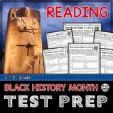 READING TEST PREP for Black History Month