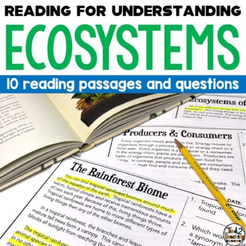 Ecosystems and Biomes Reading Passages
