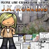 J.K. Rowling Mini Biography Unit