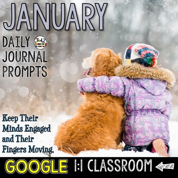 January Writing Prompts for Google Drive