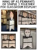 Presidents Day Biography Pennants