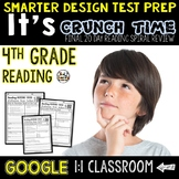 Reading Test Prep 4th Grade for Google Classroom