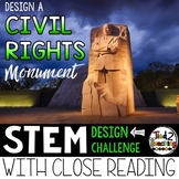 Black History STEM Challenge - CIVIL RIGHTS MONUMENT Design Challenge