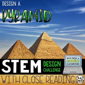 STEM Challenge Giant Pyramid Challenge Print AND Digital