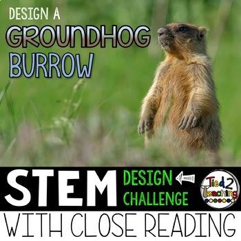 Groundhog Day STEM Challenge - Groundhog Burrow Design Challenge