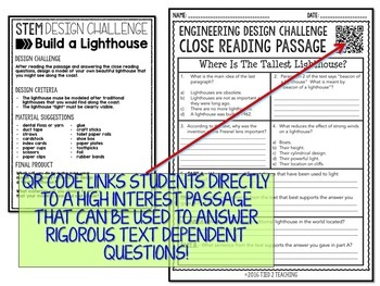 STEM Challenge - Lighthouse Design Challenge