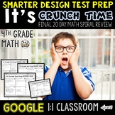 Test Prep 4th Grade Math for Google Classroom
