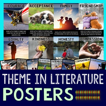 Theme in Literature Posters