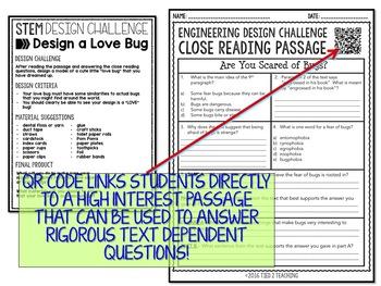 Valentines STEM Challenge - Love Bug Design Challenge