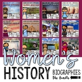 Women's History Month Biography Unit Collection