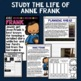 Anne Frank Mini Biography Unit