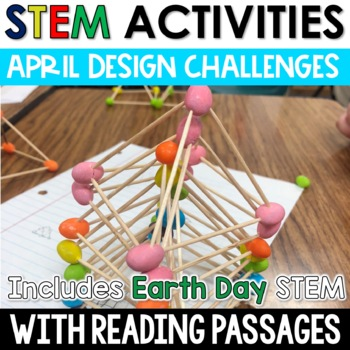 April STEM Challenges with Close Reading