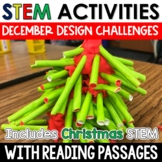 December Christmas STEM Challenges with Close Reading
