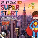 Back to School Superhero Activities for Big Kids