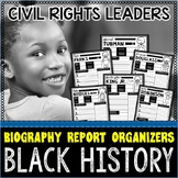 Black History Month Biography Report Organizers