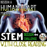 Build a Human Heart Model STEM with Close Reading