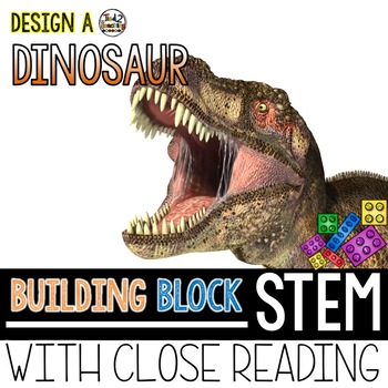 Building Block STEM Build a Dinosaur