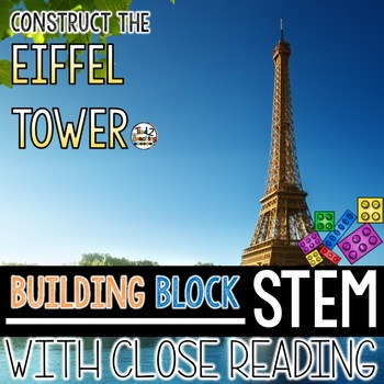 Building Block STEM Build the Eiffel Tower