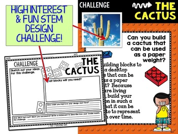 Building Block STEM Design a Cactus Paperweight