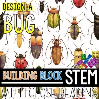 Building Block STEM Design a New Bug Species