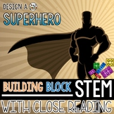 Building Block STEM Design a Superhero