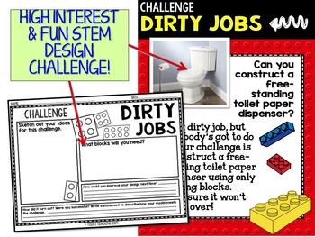 Building Block STEM Design a Toilet Paper Dispenser