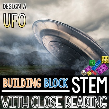 Building Block STEM Design a UFO