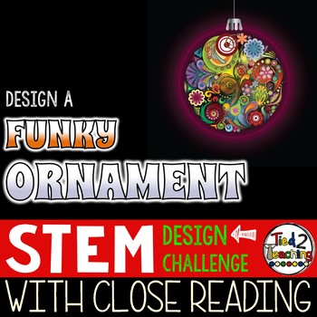 Christmas STEM Funky Christmas Ornament Challenge