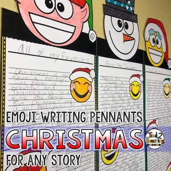 Christmas Writing Pennant Banners