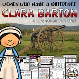 Clara Barton Mini Biography Unit