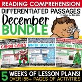 Reading Comprehension Passages & Questions: December Close