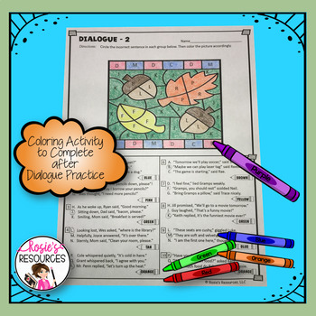 Dialogue Coloring Pages